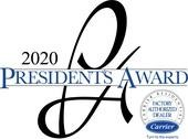 Carrier 2020 Presidents Award